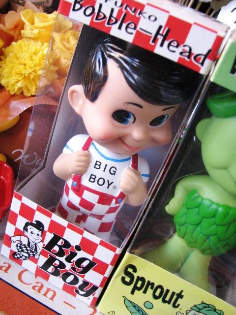 Big boy ビッグボーイ ボビングヘッド 人形