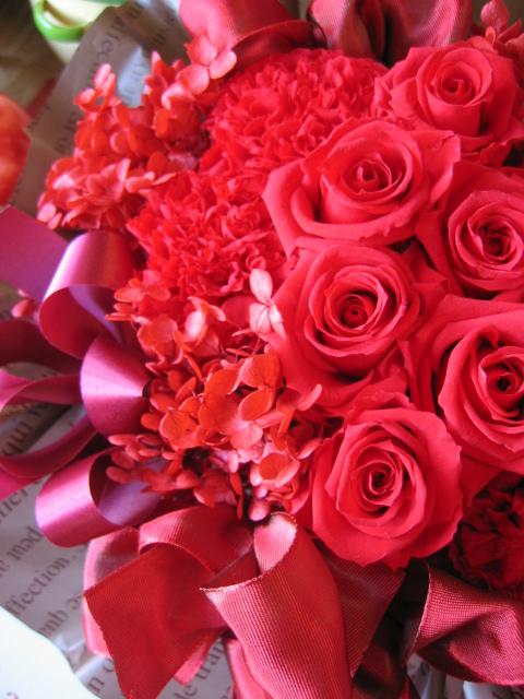 喜寿 お祝い 数字77入り 花
