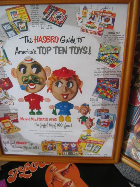 アメリカ 雑貨 アメ雑 枠付きアメリカ企業広告ポスター