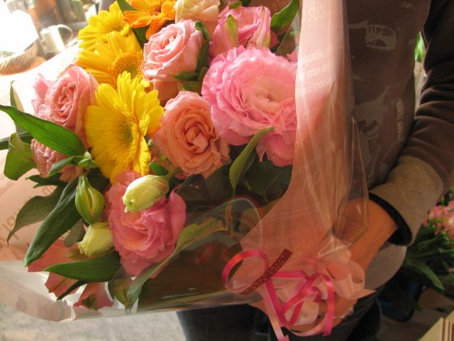 誕生日プレゼント 花束