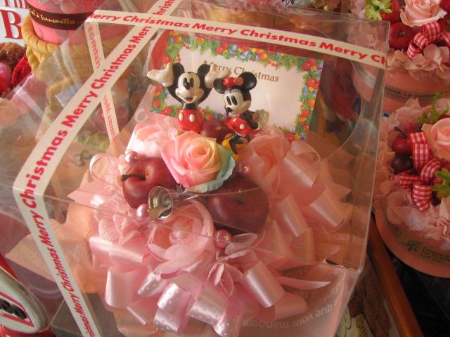 クリスマスプレゼント 花 ディズニー