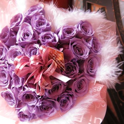 古希祝い 花 フラワーギフト