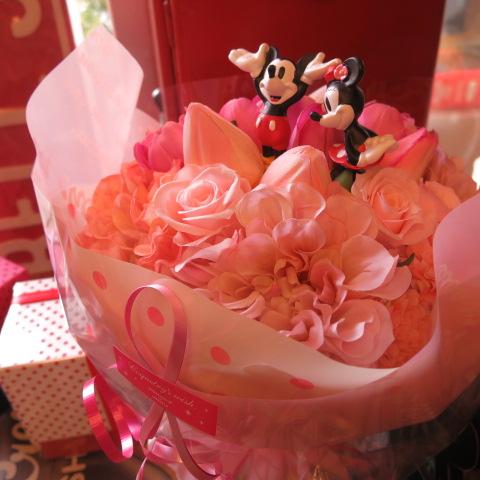 ディズニー 花束